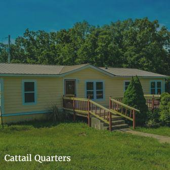Cattail Quarters Group Lodging near St. Louis