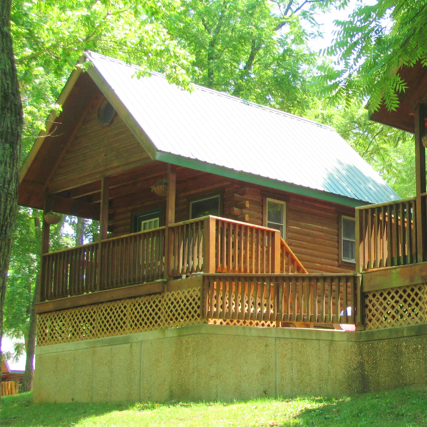 Country log cabins in missouri ozark outdoors riverfront for Country log cabins