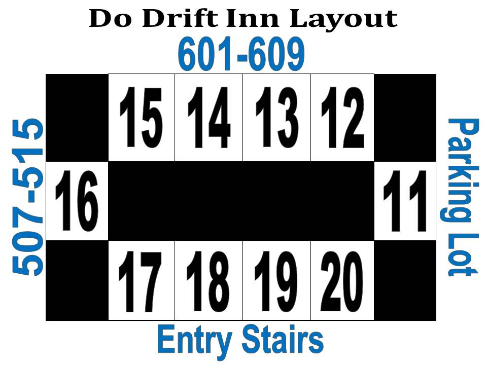Do Drift Inn Layout