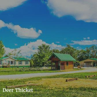 Deer Thicket Group Lodging Retreat near St. Louis