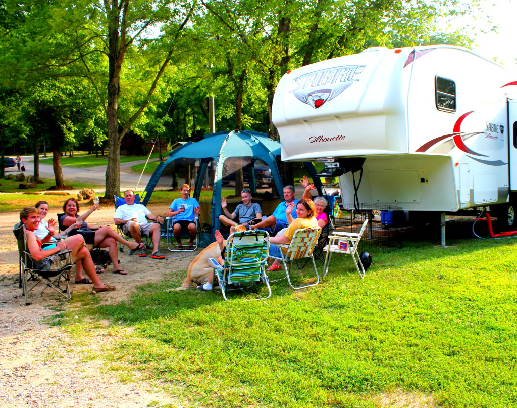 RV Camping in the Ozarks