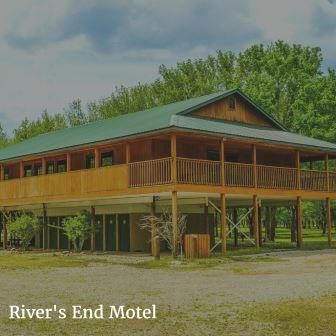 ... Riveru0027s End Motel Lodging At Ozark Outdoors