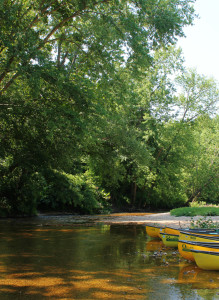 Courtois River Float Trips, Canoeing in Missouri
