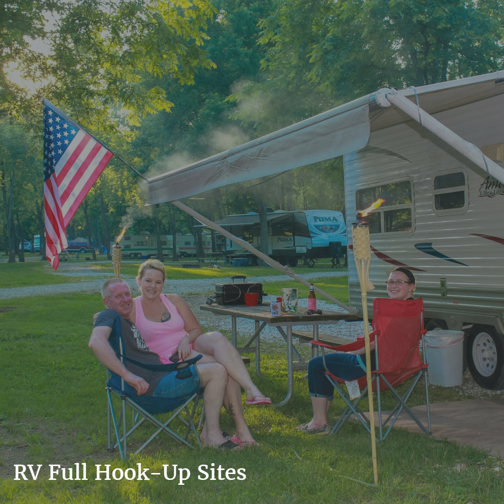 RV Full Hook Up Camping Sites