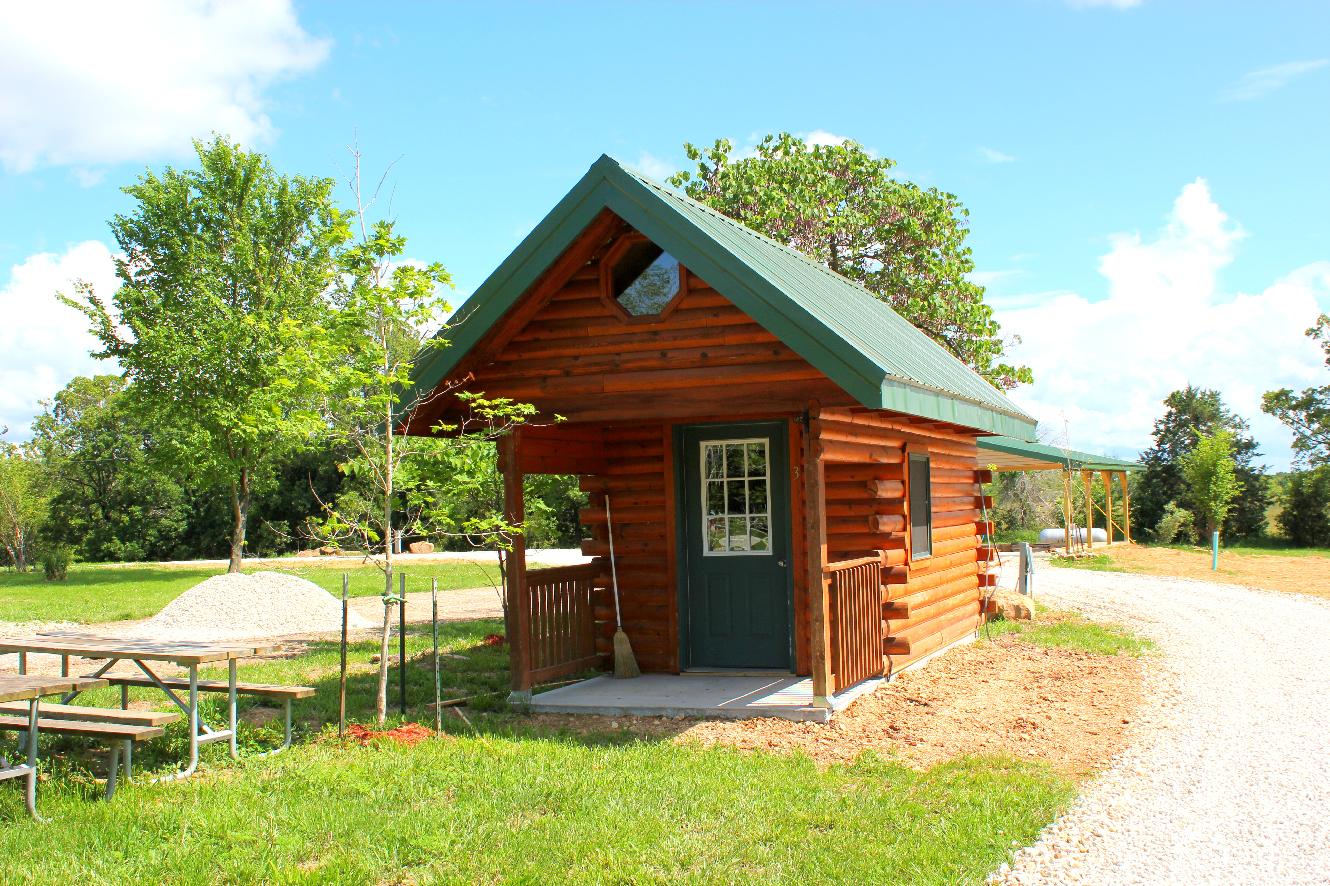 Mini Log Cabin at Deer Thicket Offsite Rental