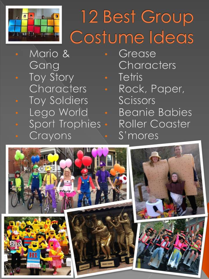 12 Best Group Costume Ideas