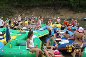 93.7 the Bull Float Trip at the mudbanks
