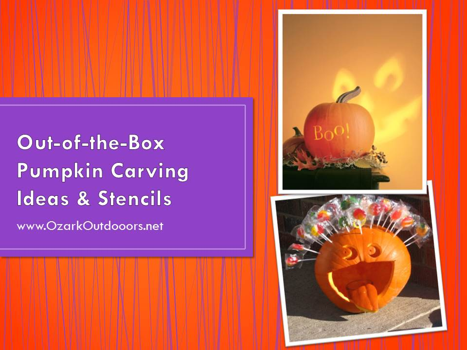 Out of the Box Pumpkin Carving Ideas Stencils