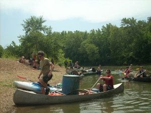 Operation Clean Stream on Missouri Rivers