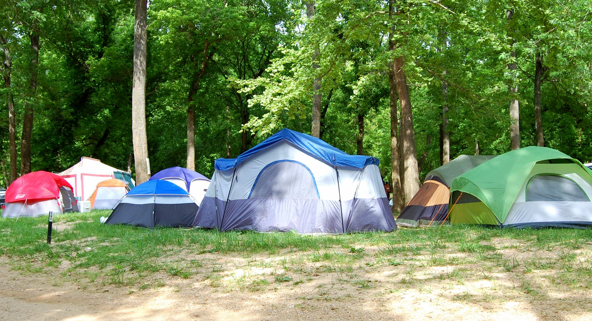 Group camping sites at ozark outdoors ozark outdoors for Missouri fishing license walmart
