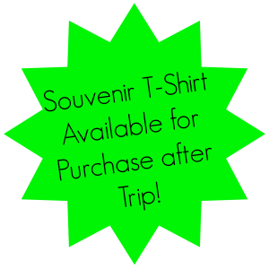 Souvenir T-Shirt Available