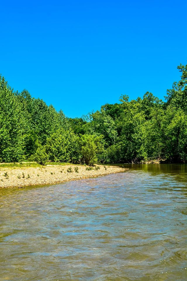 Scenic trips on the Courtois Creek