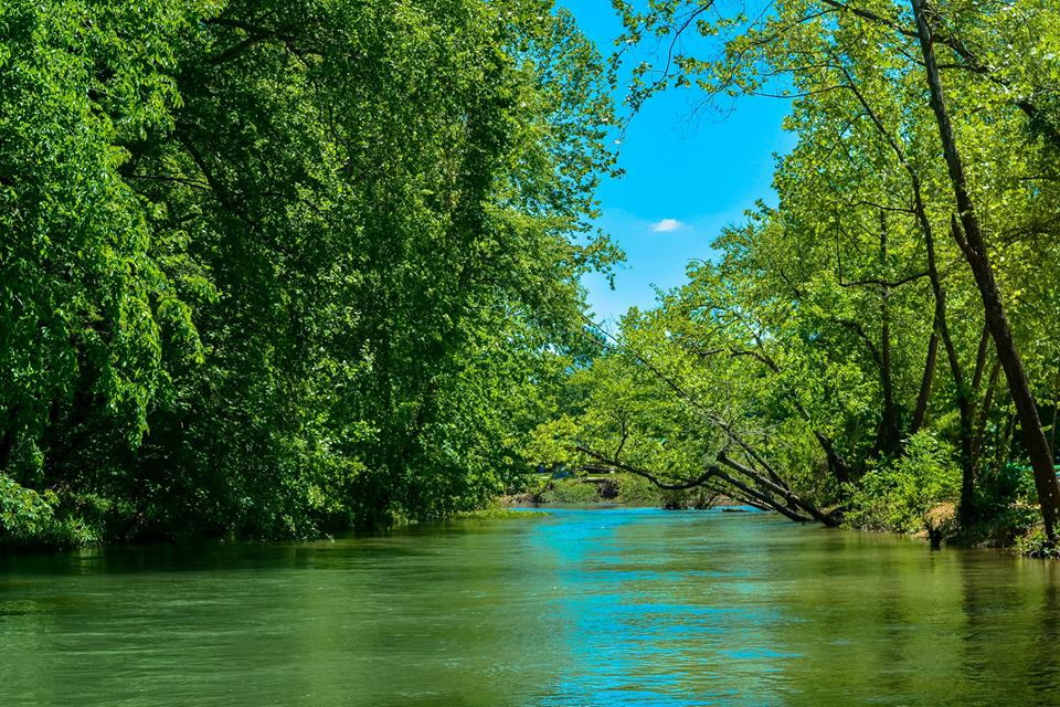 Scenic trips on the Courtois River