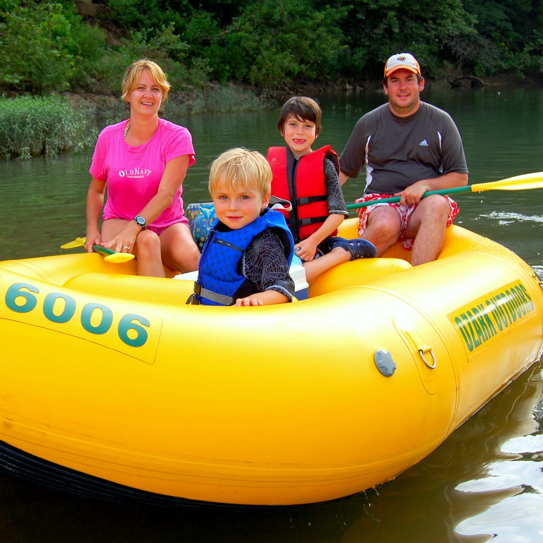 Rafting Trips - Family Friendly