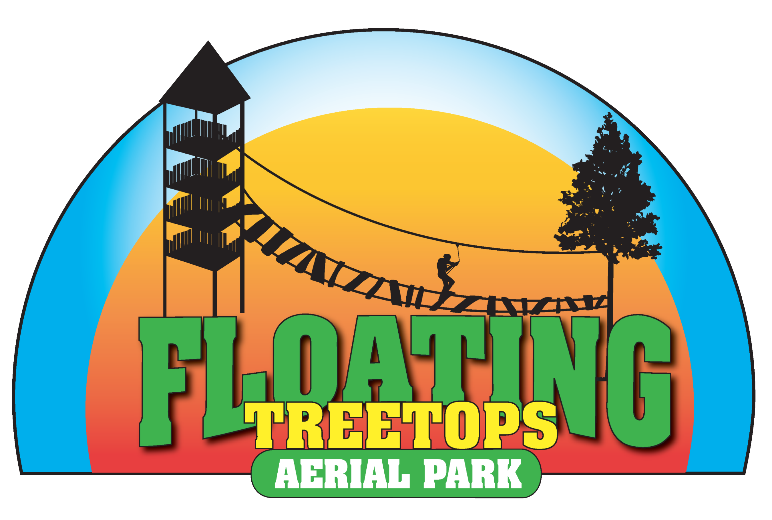 Floating Treetops Aerial Park Logo