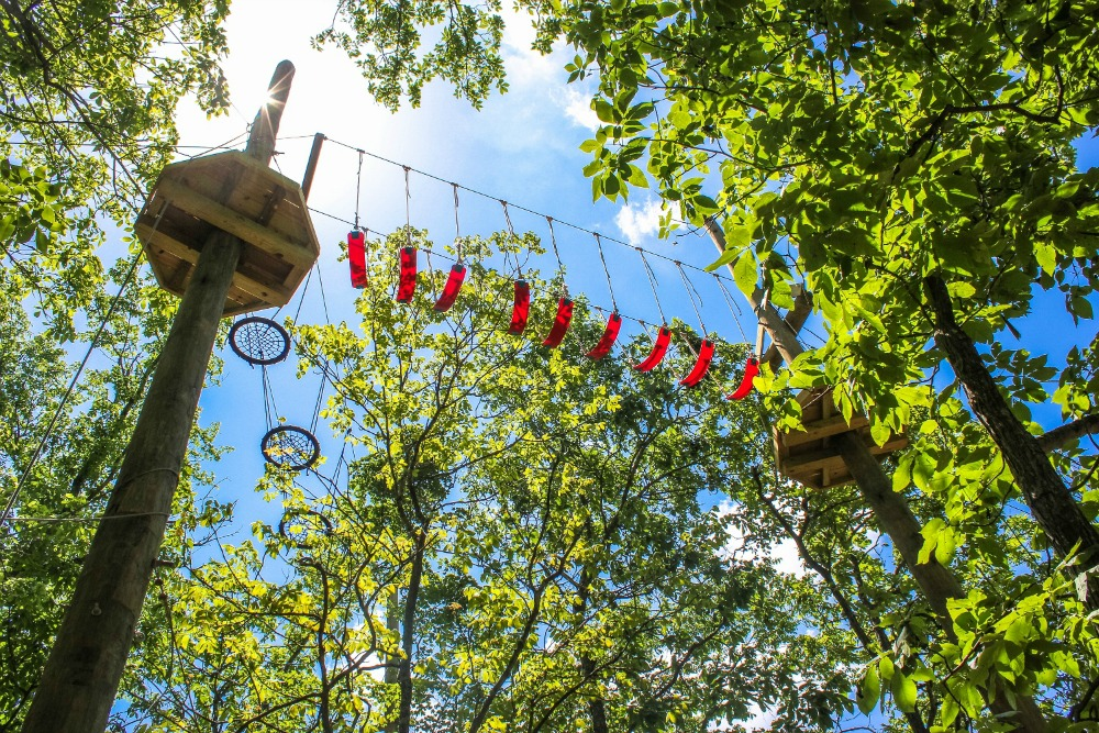 Aerial Park in Leasburg Missouri