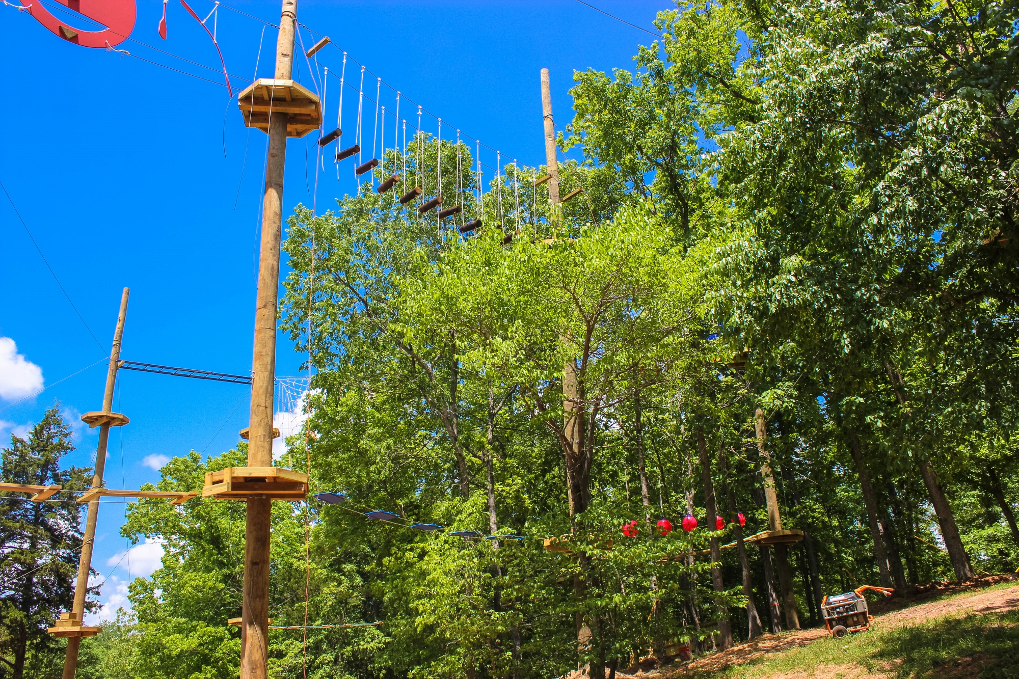 Aerial Park in Missouri near STL