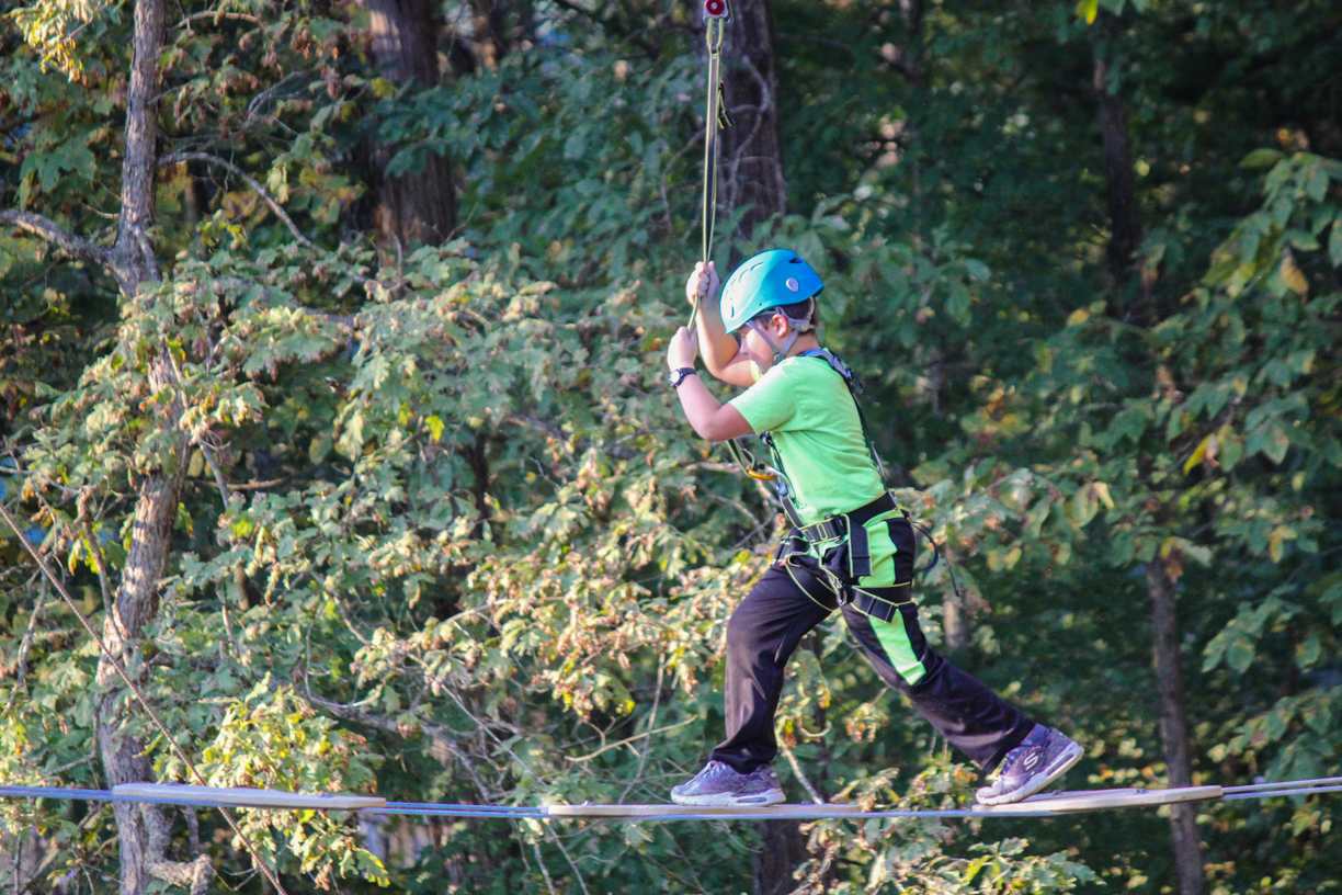 Treetop Aerial Adventure in Missouri