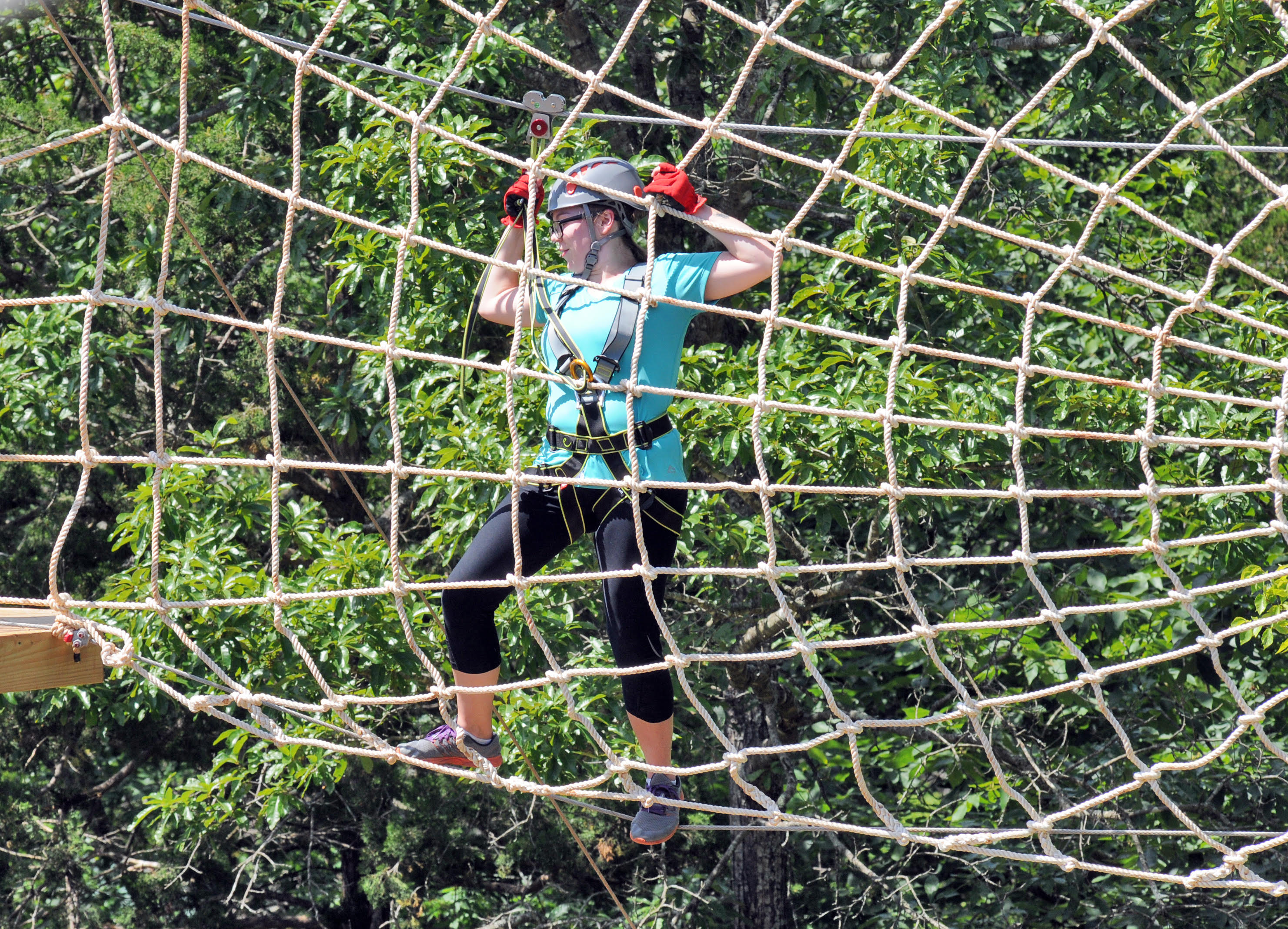 Floating Treetops Aerial Park