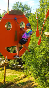 Floating Treetops Adventure Course at Ozark Outdoors